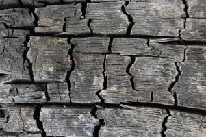 fundo abstrato de madeira queimada