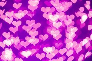 corações bokeh