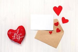 coração e cartão