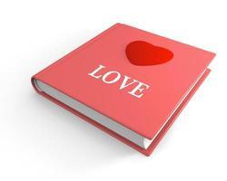 livro de amor foto