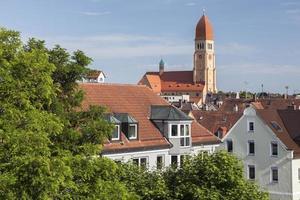 igreja do sagrado coração em augsburg foto