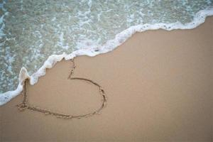 coração de areia foto