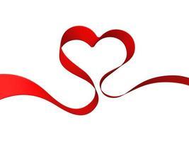 coração de fita