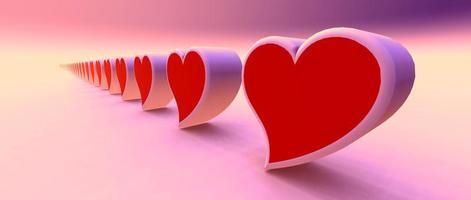 mil corações para você! foto