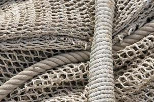 corda e fundo de rede foto