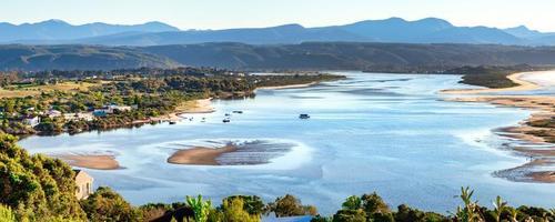 lagoa do rio keurboom, baía de plettenberg, áfrica do sul