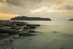 águas enevoadas foto