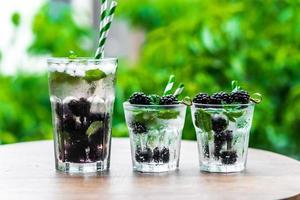 água de desintoxicação