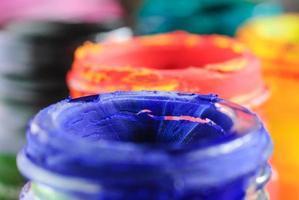 cor da água