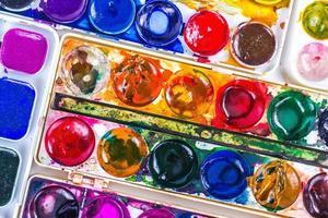 fundo colorido da cor da água
