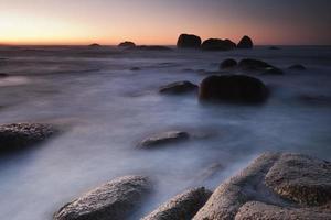 paisagem marinha sonhadora foto