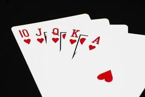 cartão de pôquer foto