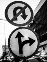 sinais de trânsito foto