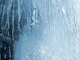 textura de gelo foto