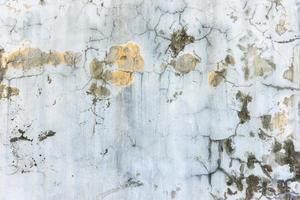 textura de paredes de rachadura foto