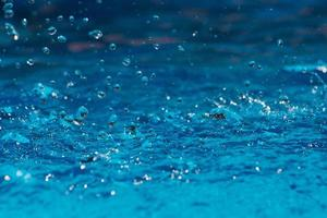 fundo da superfície da água azul