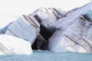 o coração no iceberg