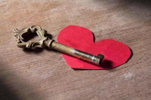 chave para o coração, amor, mente