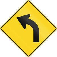 curva à frente no Canadá