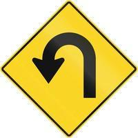 curva fechada no Canadá