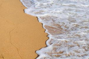 onda suave do mar foto