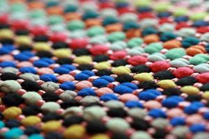textura de tapete colorido