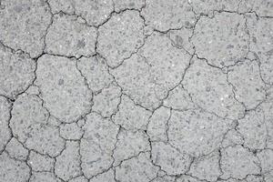 textura de asfalto rachado