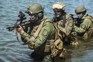 forças especiais na água