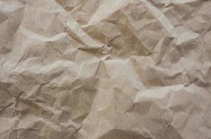 textura de papelão amassada