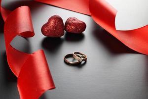 fita de alianças de casamento