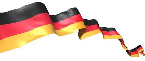 fita da bandeira da alemanha