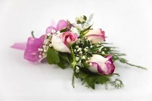 corpete - rosas com ponta fúcsia