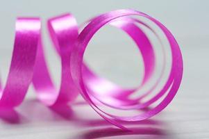 macro foto de fita rosa