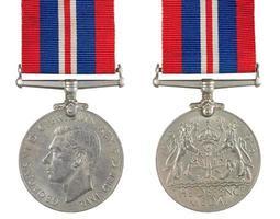 a medalha de defesa