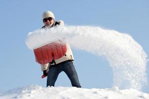 remoção de neve incrível!