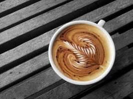 latte art foto