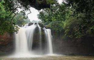 cachoeira na floresta tropical foto