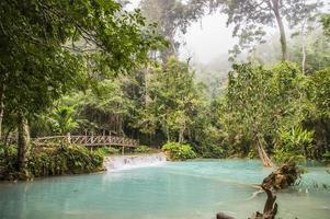 Cachoeiras Kuang Si em Laos
