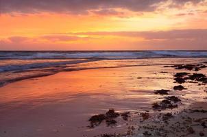 nascer do sol entrada sul da praia