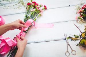 trabalho de florista