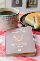 livro de passaporte foto