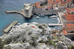 dubrovnik, a pérola do mar adriático foto