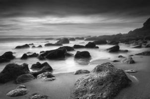 o mar de pedra