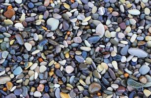 pedras do mar foto