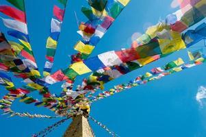 mosteiro budista em nepal foto