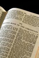 crônicas da série bíblica ii foto