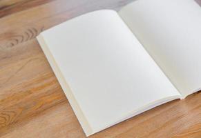 catálogo em branco, brochura, revistas, livro mock up foto