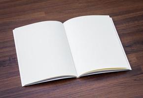 catálogo em branco, brochura, revistas, livro mock up