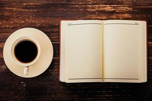 café e livro foto