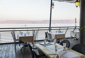 mar (lago) da Galiléia. tiberíades. Galiléia inferior. Israel. foto